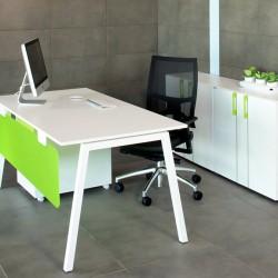 Biroja / ofisa galdi un skapji