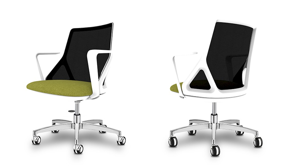 Italian quality task chair Delta for home and office use